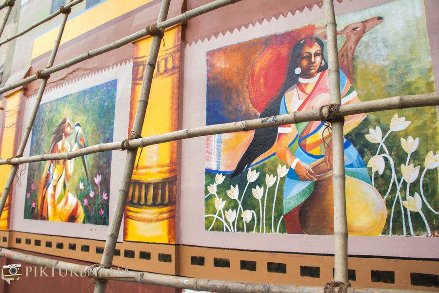 Kolkata Street Art festival 14