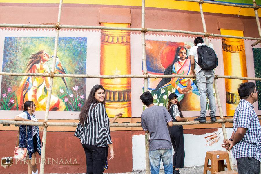 Kolkata Street Art festival 17