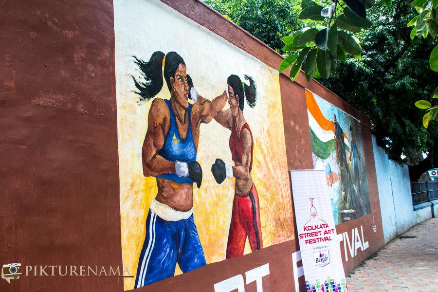 Kolkata Street Art festival 6