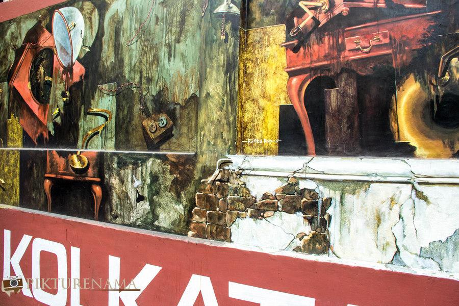 Kolkata Street Art festival 8