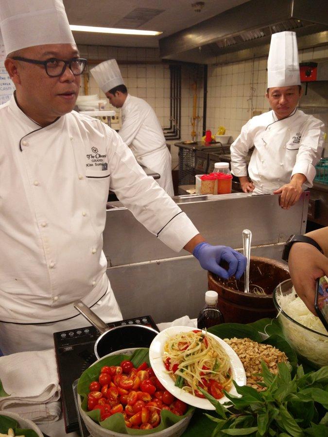 Thai Green Curry cooking class 4 Som Tum Salad