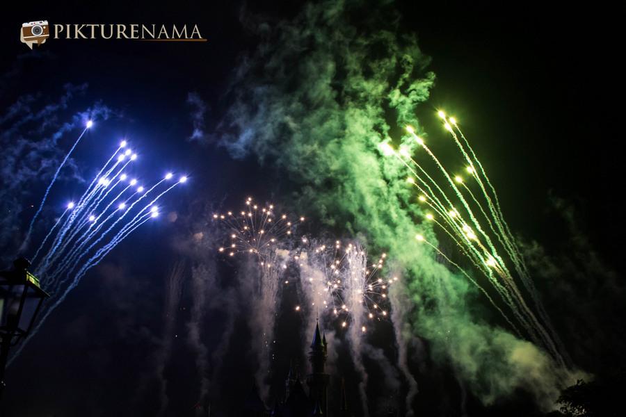 HongKong Disneyland Fireworks 20