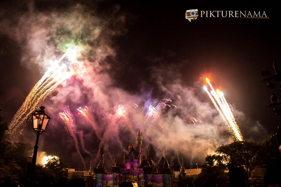 HongKong Disneyland Fireworks 21