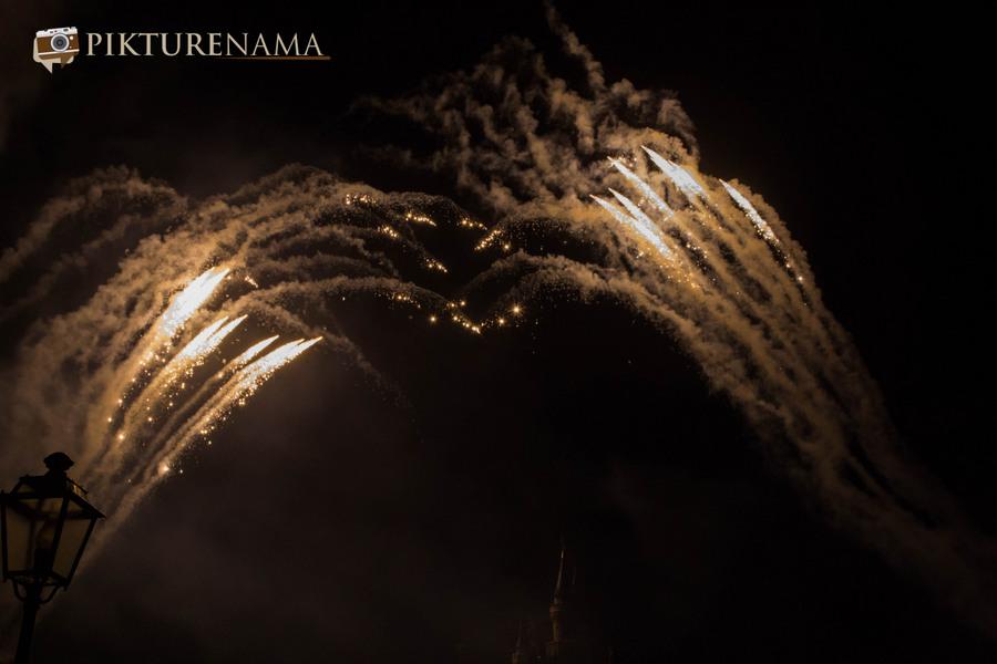 HongKong Disneyland Fireworks 25