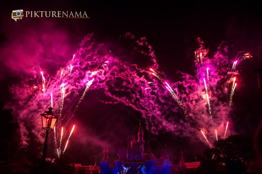 HongKong Disneyland Fireworks 4