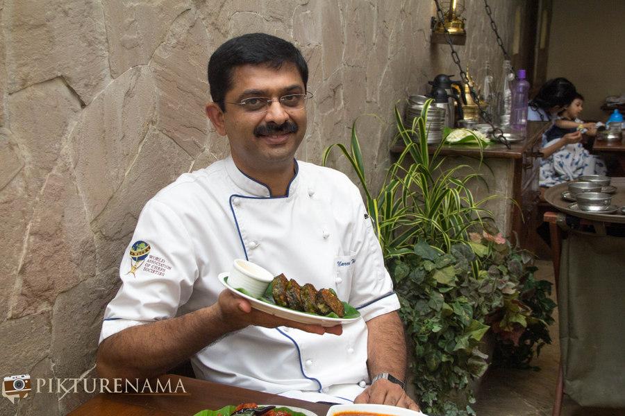 KOlkata Food Scene - Karavalli Chef Naren