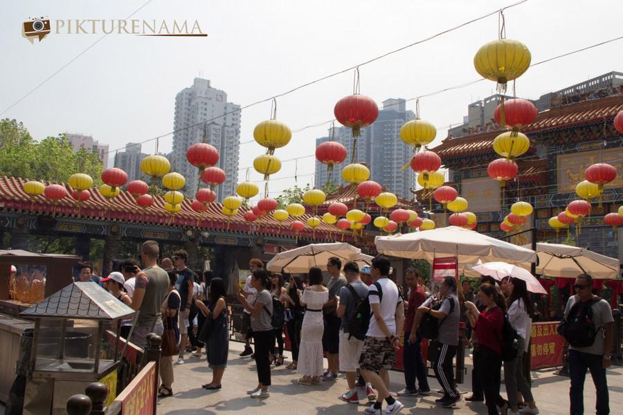 Wong Tai Sin temple HongKong and Man Mo Temple 18
