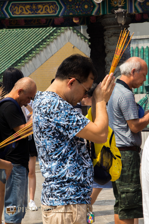 Wong Tai Sin temple HongKong and Man Mo Temple 20