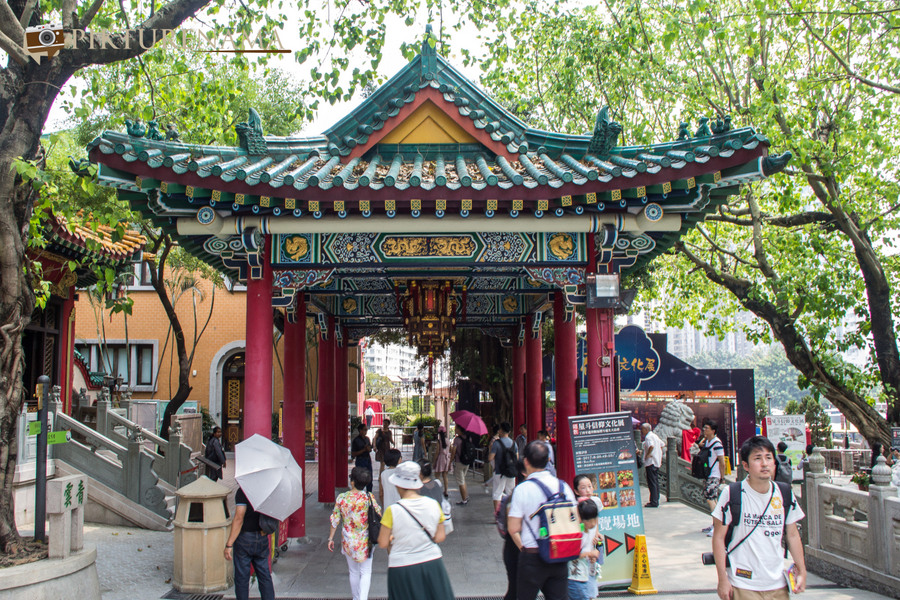 Wong Tai Sin temple HongKong and Man Mo Temple 24