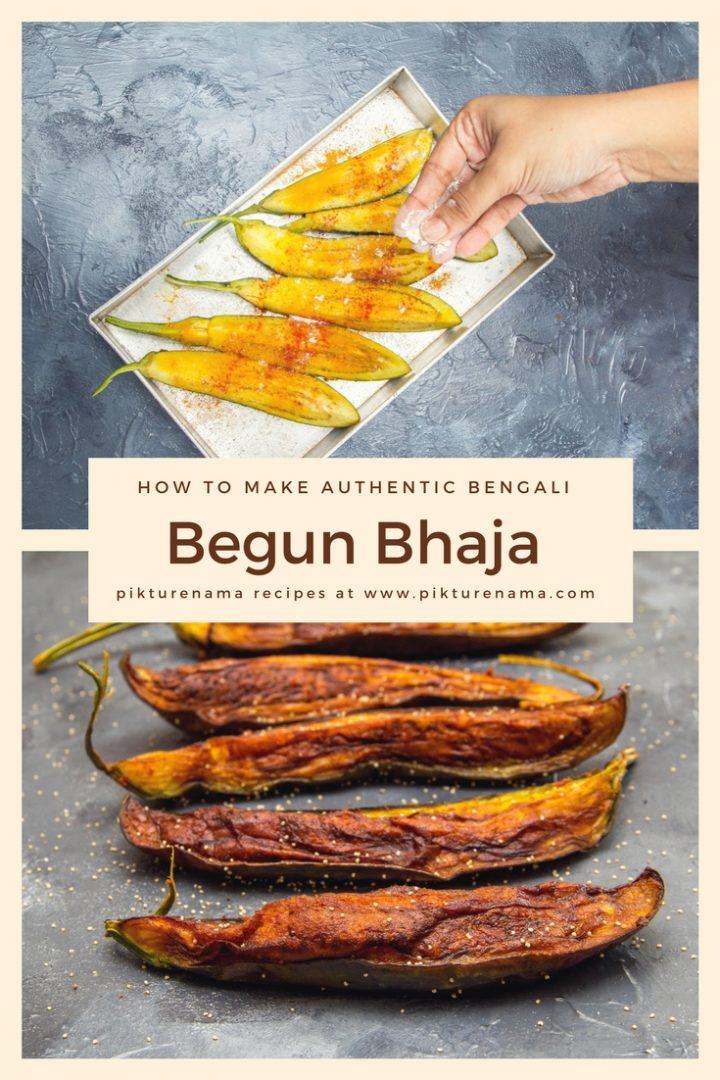 Easy way to make Begun Bhaja