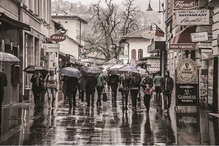 Bosnia and Herzegovina, Mr. Prakash Bang's photographs and my desire to visit the country