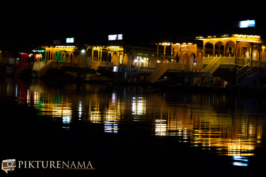 Kashmir Houseboat night - 3