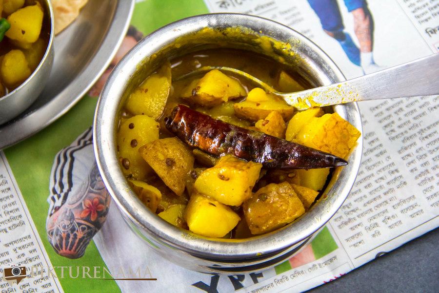 Recipe of Alur Torkari 1
