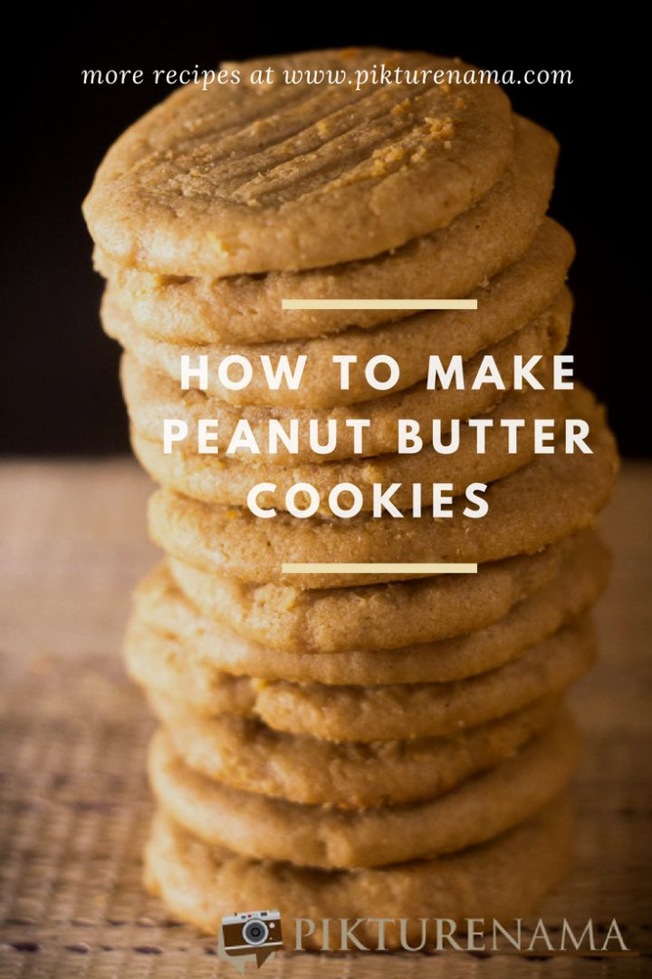 Peanut butter cookies - Pin