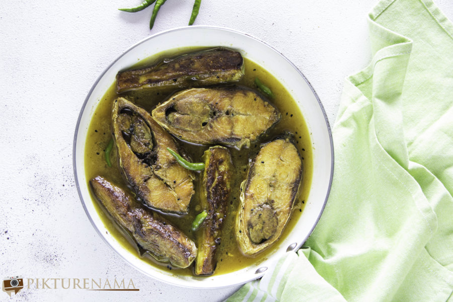Ilish Begun Jhol - 4