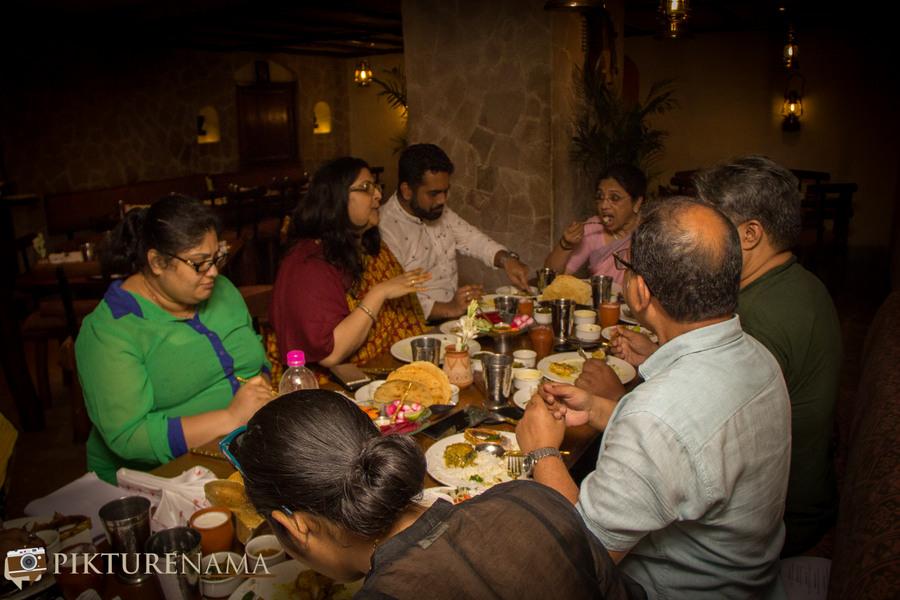 Doi Ilish at Taj Bengal - conversations