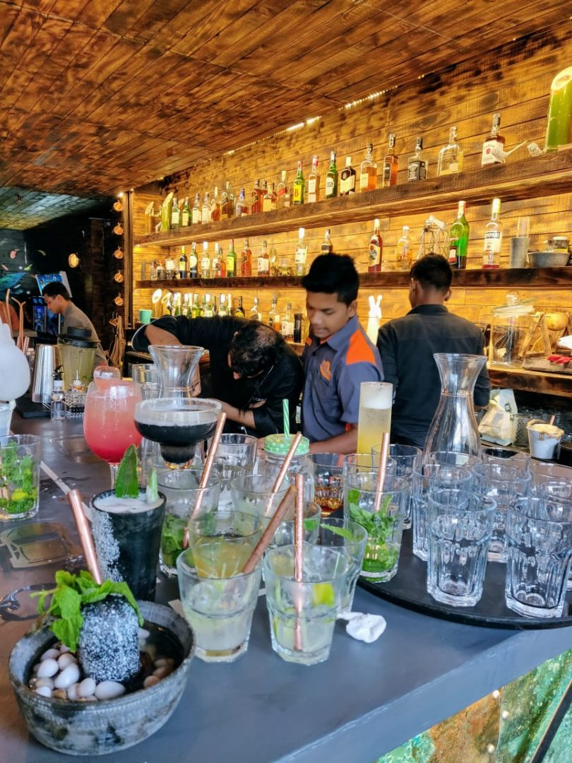 The Parking Lot Kolkata drinks - 1