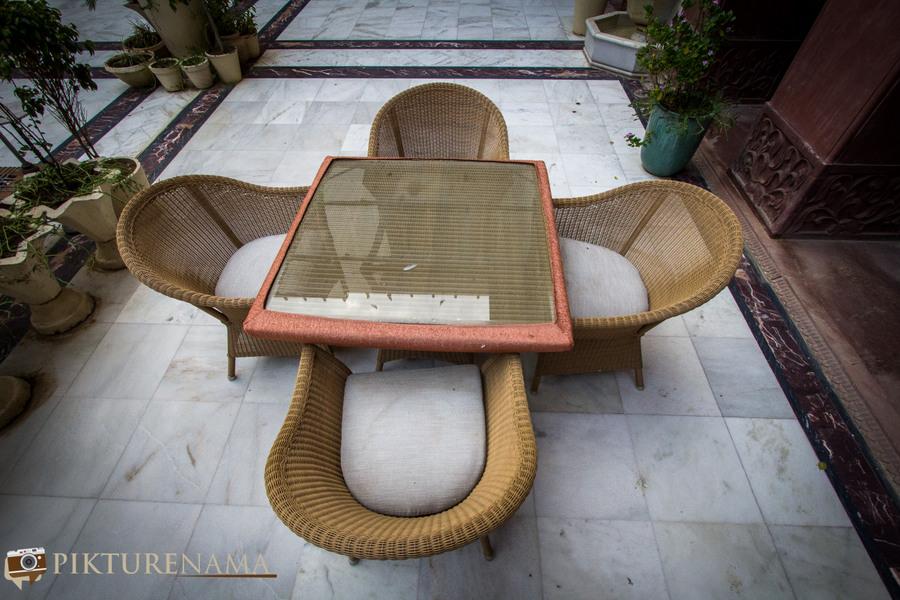 Narendra Bhawan bikaner sitting arrangement