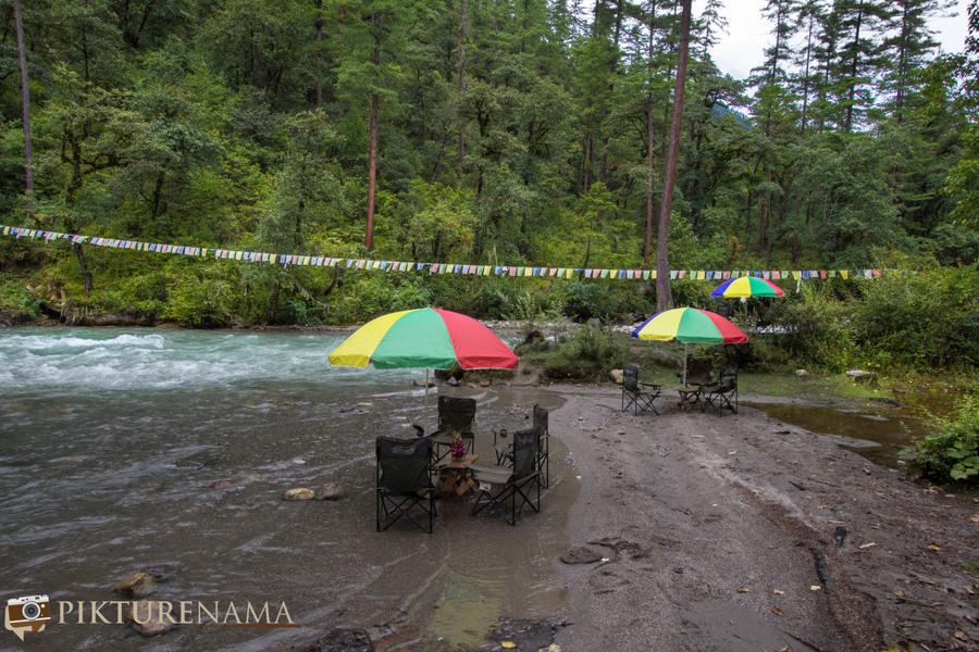 Taj Tashi Thimpu Bhutan picnic 2