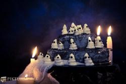Halloween Ghost cake - 4