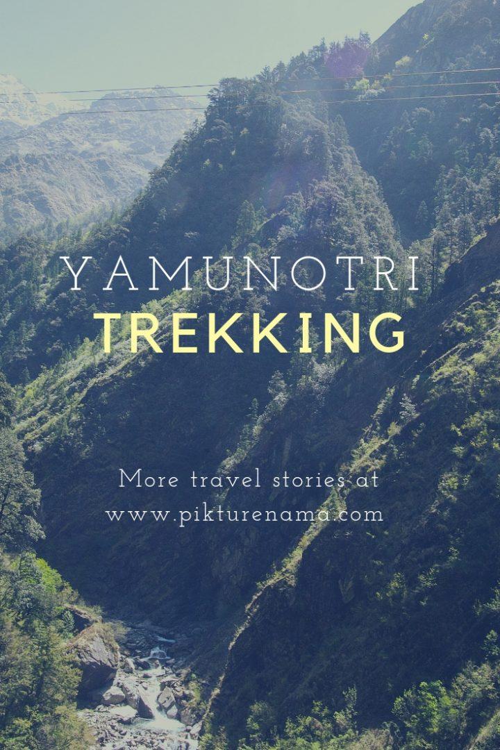 Yamunotri Trek Pinterest 4