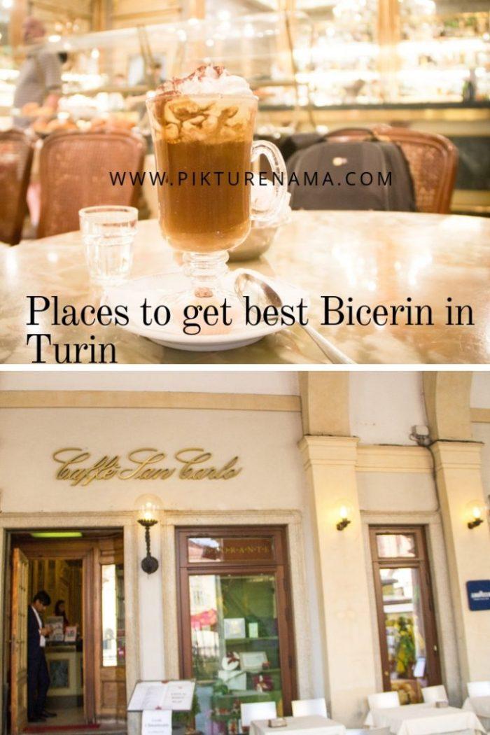 Bicerin Caffe San Carlo Pinterest