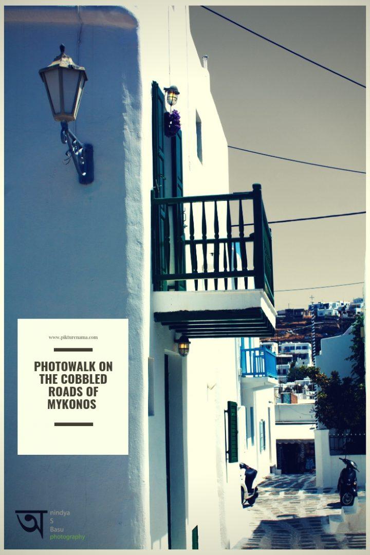 Photowalk in Mykonos cobbled roads -2