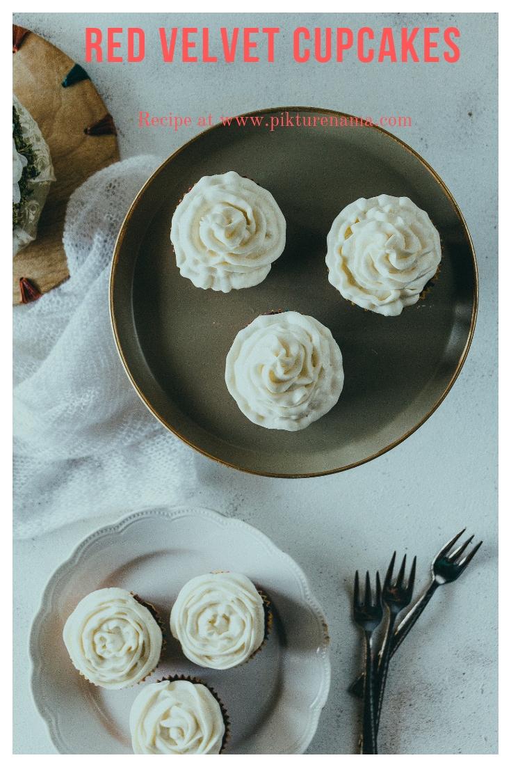 Red velvet cupcakes Pinterest - 4