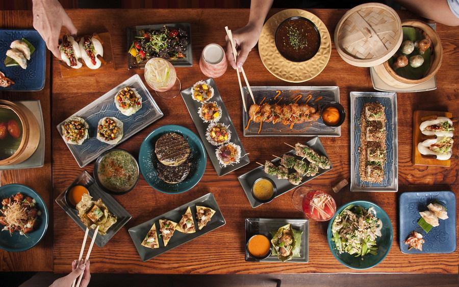 Pan Asian brunch in Kolkata - The Fatty Bao top shot