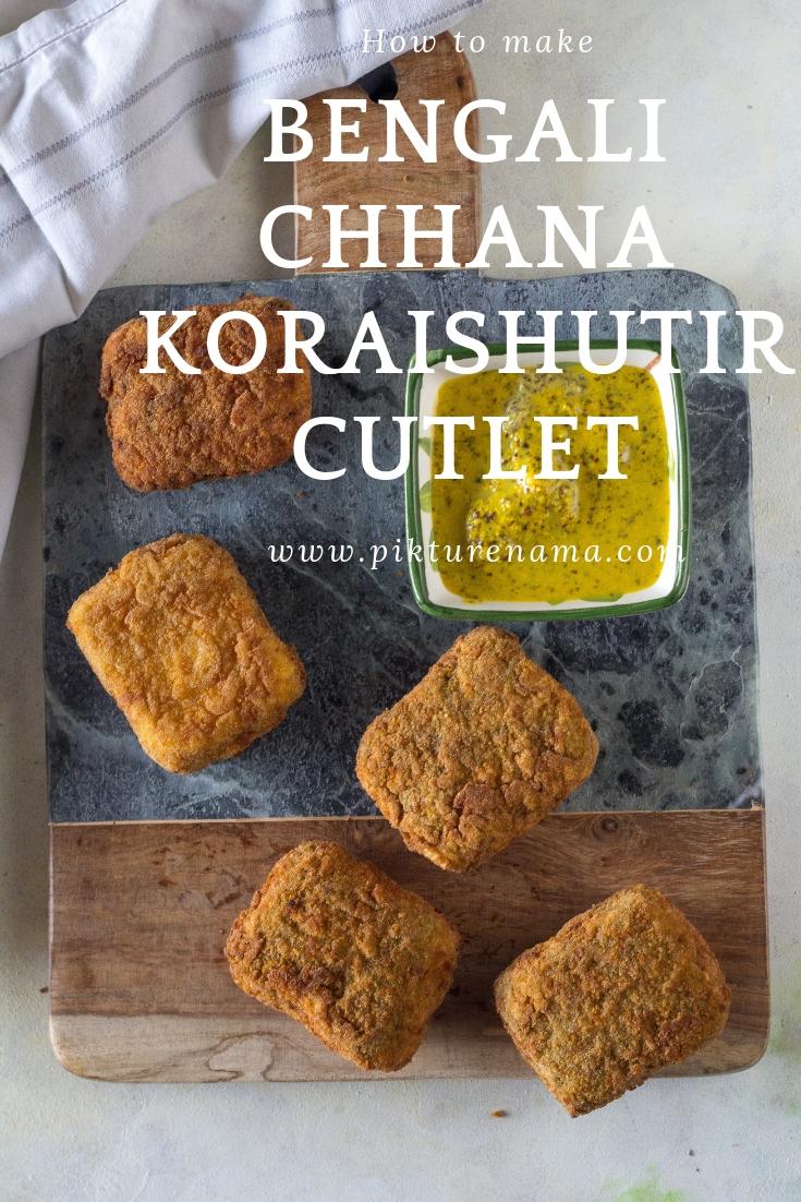 Chhana Koraishutir Cutlet Pinterest - 2