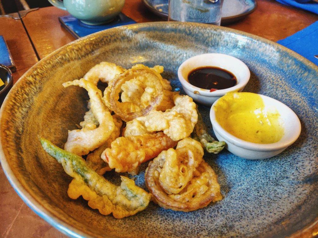 Ekdalia Rd KOlkata - tempura platter