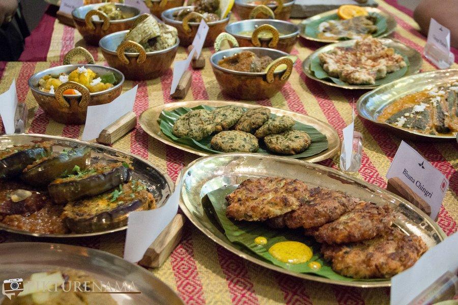 Bangladeshi cuisine by Nayana Afroz at Aaheli Kolkata the spread 2