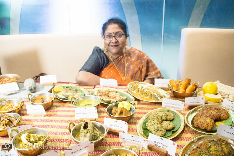 Bangladeshi cuisine by Nayana Afroz at Aaheli Kolkata Nayana Afroz