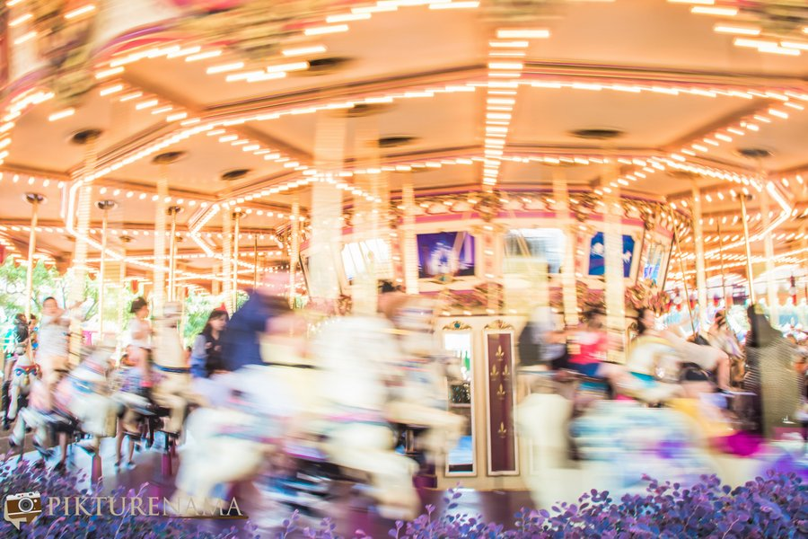Cinderella Carousel at Hong Kong Disneyland - 11