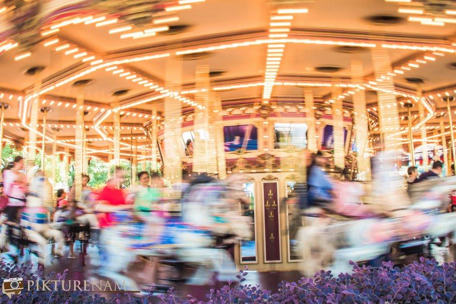 Cinderella Carousel at Hong Kong Disneyland - 12