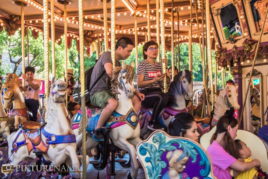 Cinderella Carousel at Hong Kong Disneyland - 16