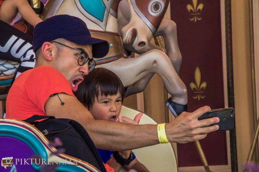 Cinderella Carousel at Hong Kong Disneyland - 6