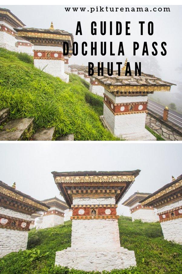Dochula Pass Thimpu Bhutan pinterest - 1