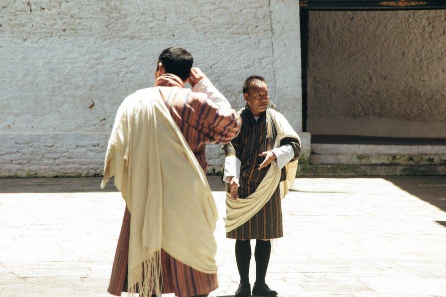 Inside Punakha Dzong Bhutan - 5