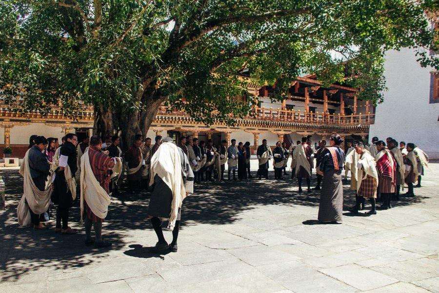 Inside Punakha Dzong Bhutan- 33