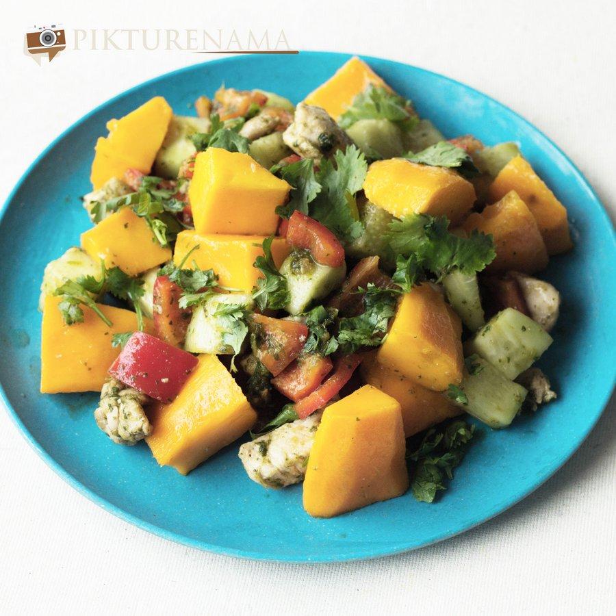 Mango chicken salad revised - 1