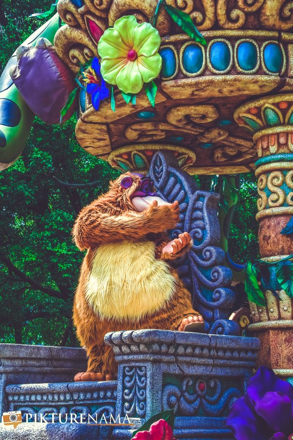 Flights of Fantasy in Hong Kong DIsneyland King Louie