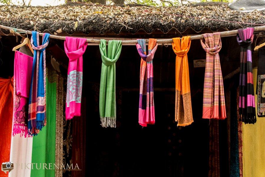 shilparamam Hyderabad silk knots