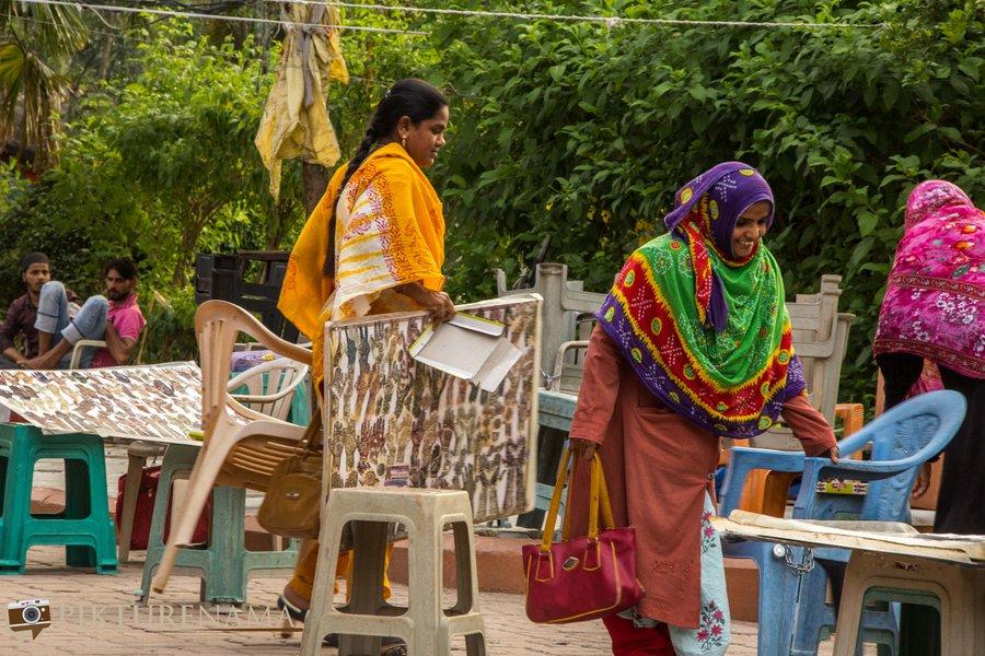 shilparamam Hyderabad mehendi girls
