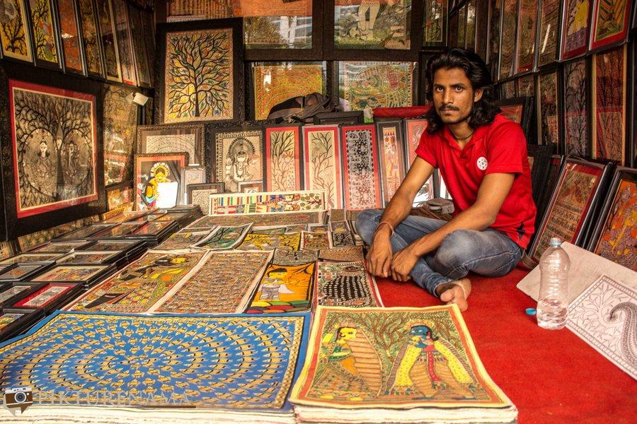 shilparamam Hyderabad madhunbani painting 2