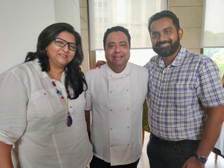 Chef Manish Mehrotra and tasting menu at Indian Accent - 21