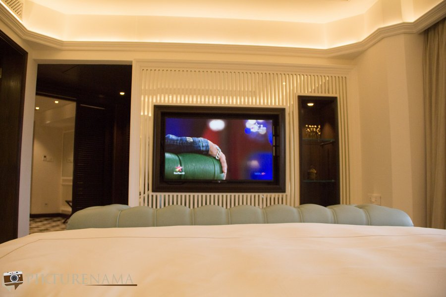 Taj Bengal Kolkata new rooms TV