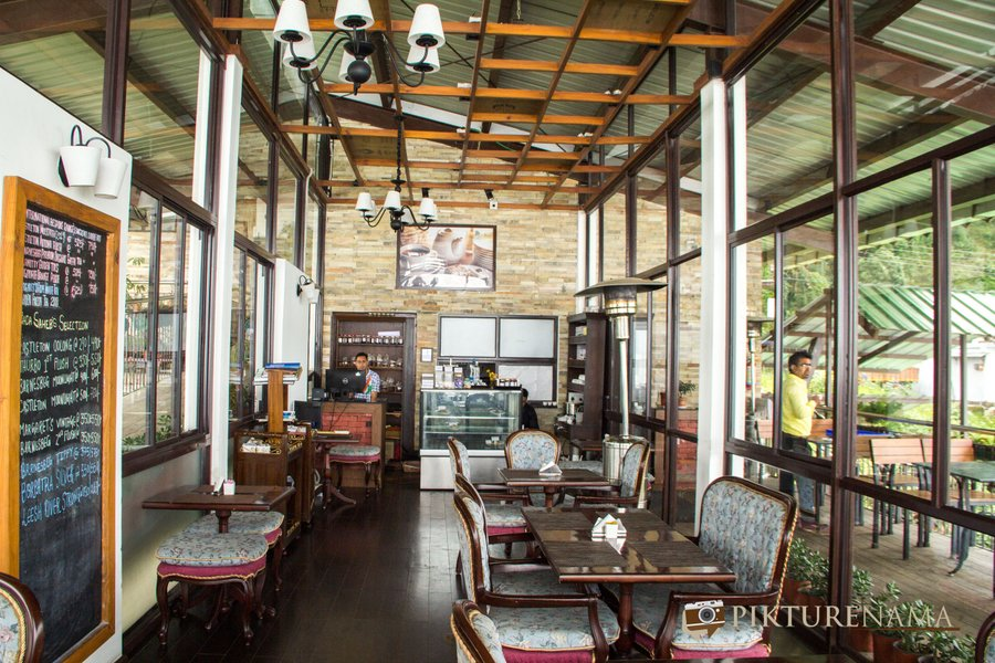 Margaret's deck tea Lounge Kurseong the lounge