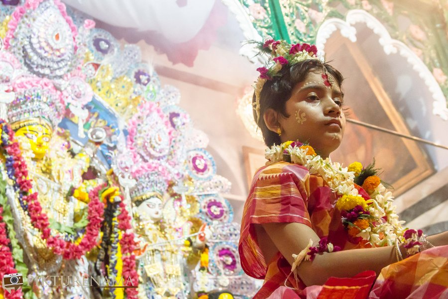 Why ask for Santanan Dehi when Kumari Pujo gets opposed ?