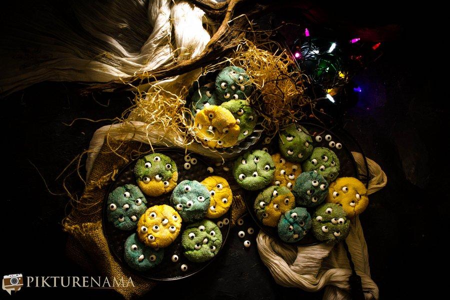 Monster cookies - 7